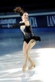 俄国溜冰者Irina Slutskaya 免版税库存图片