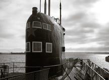 俄国潜水艇 库存图片