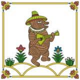 俄国熊01 库存照片