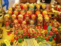 俄国玩偶 免版税库存照片