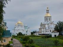俄国省的东正教 图库摄影
