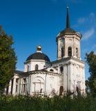 俄国省的老庄园住宅 库存图片