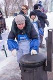 俄国看见的冬天 库存照片