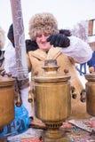 俄国看见的冬天 库存图片