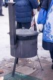俄国看见的冬天 图库摄影