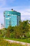 俄国石油公司Rosneft办公楼夏令时 库存图片