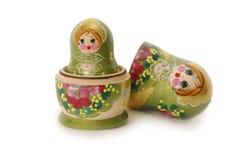 俄国纪念品 免版税库存照片
