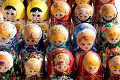 俄国纪念品 免版税库存图片