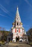 俄国纪念教会 库存图片