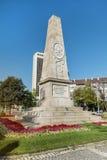 俄国纪念碑在索非亚,保加利亚 免版税库存图片