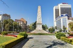 俄国纪念碑在索非亚,保加利亚 图库摄影