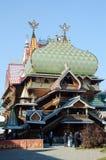 俄国膳食的宫殿 库存照片