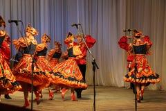 俄国舞蹈演员 免版税图库摄影
