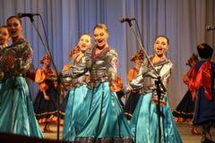 俄国舞蹈演员 免版税库存图片