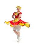 俄国舞蹈 免版税图库摄影