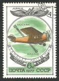 俄国航空器, Ak 1架单翼飞机 库存照片