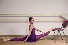 俄国芭蕾舞女演员 库存图片