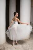 俄国芭蕾舞女演员 库存照片