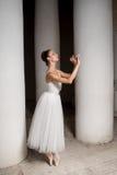 俄国芭蕾舞女演员 免版税库存照片