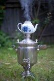 俄国茶 免版税库存图片