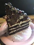 俄国蛋糕在韩国 免版税库存图片