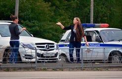 俄国警察 免版税库存图片