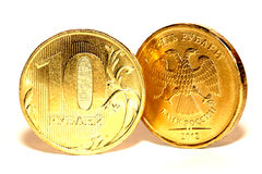 俄国货币 库存照片