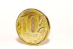 俄国货币 免版税库存照片