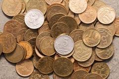 俄国金钱。 图库摄影