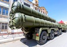 俄国防空导弹系统SAM S-300 免版税库存照片