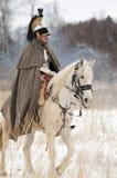 俄国骑兵士兵 免版税图库摄影