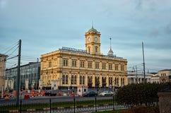俄国 在三个驻地正方形的列宁格勒驻地在莫斯科 2017年11月18日 免版税库存照片