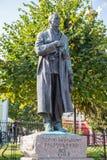 俄国 坦波夫 对作曲家谢尔盖拉赫曼尼诺夫的纪念碑 免版税图库摄影