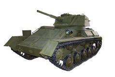 俄国轻型坦克t80 库存图片