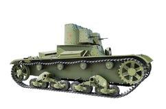 俄国轻型坦克T-26 库存图片