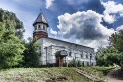 俄国 巴什基尔人共和国 市Birsk 今天mosqu 免版税库存照片