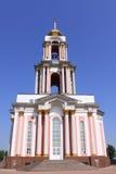 俄国 库尔斯克 了不起的受难者乔治寺庙,是纪念复杂库尔斯克争斗的一部分 免版税库存照片