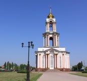 俄国 库尔斯克 了不起的受难者乔治寺庙,是纪念复杂库尔斯克争斗的一部分 库存图片