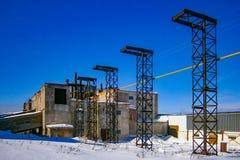 俄国 斯维尔德洛夫斯克地区 美好的生产风景 免版税库存图片