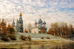 俄国 沃洛格达州 库存照片
