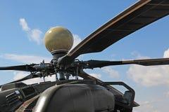 俄国攻击用直升机Mi 28 库存图片