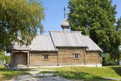 俄国 老Ladoga 堡垒疆土的圣徒伟大的受难者德米特里Solunsky教会  免版税库存照片