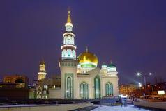 俄国 莫斯科大教堂清真寺 免版税库存照片