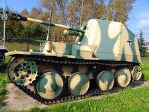 俄国 莫斯科 坦克和反坦克在Poklonnaya Gora开枪博物馆 库存照片