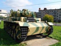 俄国 莫斯科 坦克和反坦克在Poklonnaya Gora开枪博物馆 图库摄影