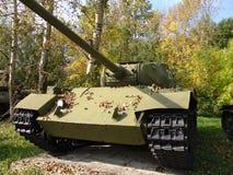 俄国 莫斯科 坦克和反坦克在Poklonnaya Gora开枪博物馆 免版税图库摄影