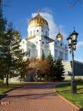 俄国 莫斯科 大教堂基督救主 图库摄影