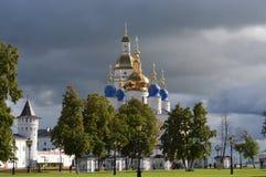 俄国 西伯利亚 克里姆林宫tobolsk 免版税图库摄影