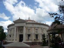 俄国 Kabardinka 老公园 巴洛克式的样式地方 库存图片