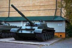 俄国 Kislovodsk 坦克在地方志`堡垒` Kislovodsk博物馆  2016年10月12日 库存图片